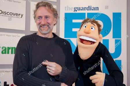 Brian Henson and puppet Dougie