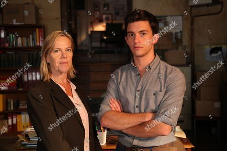 Carolyn Pickles as Maggie Radcliffe. And Jonathan Bailey as Olly Stevens