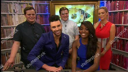 Editorial photo of 'Celebrity Big Brother', Elstree Studios, Hertfordshire, Britain - 27 Aug 2013