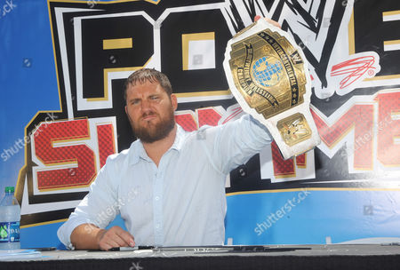 Editorial photo of WWE SummerSlam Axxess, Los Angeles, America - 18 Aug 2013