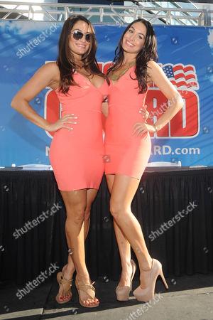 Nikki Bella and Brie Bella
