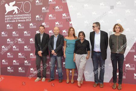 Editorial photo of Jury Photocall, 70th Venice International Film Festival, Italy - 28 Aug 2013