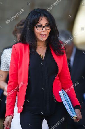 French Junior Minister for La Francophonie Yamina Benguigui