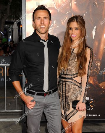 Stock Picture of Lydia McLaughlin and husband Doug McLaughlin