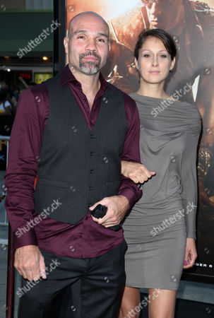Editorial photo of 'Riddick' film premiere, Los Angeles, America - 28 Aug 2013