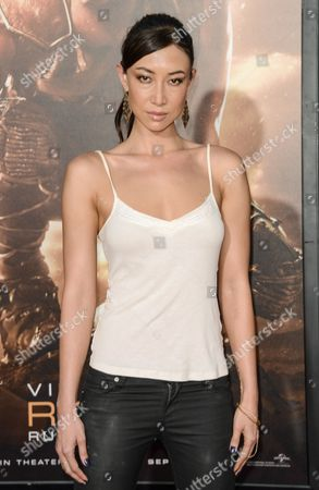 Editorial picture of 'Riddick' film premiere, Los Angeles, America - 28 Aug 2013