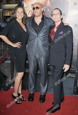Guest, Vin Diesel and David Twohy