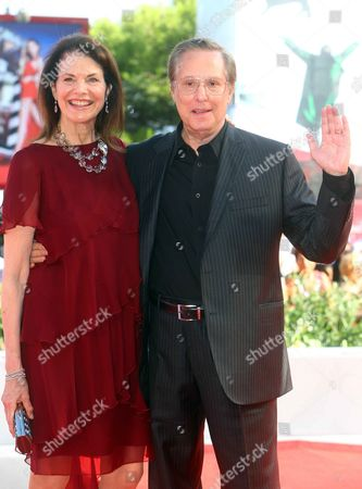 William Friedkin and his wife Lesley-Anne Down