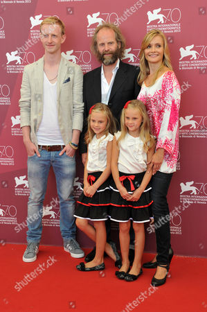 Alexandra Finder, David Zimmerschied, Philip Goring, Pia and Chiara Kleeman