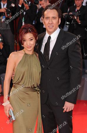 Nicolas Cage and Alice Kim Cage