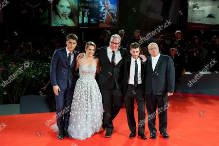 Editorial image of 'The Canyons' film premiere, 70th Venice International Film Festival, Italy - 30 Aug 2013