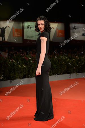 Editorial picture of 'The Canyons' film premiere, 70th Venice International Film Festival, Italy - 30 Aug 2013