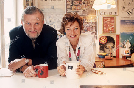 Sheridan Morley and Ruth Leon