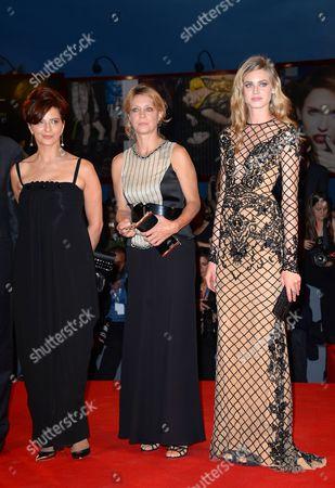 Laura Morante, Margherita Buy and Vanessa Hessler
