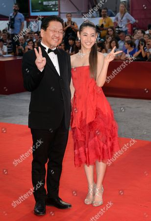 Koji Hoshino and Miori Takimoto