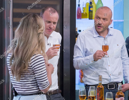 Rebecca Seal with Tim Lovejoy and Simon Rimmer
