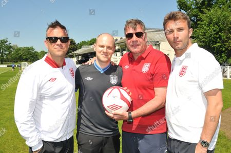 Robbie Williams, Will Payne, Sam Allardyce and Jonathan Wilkes