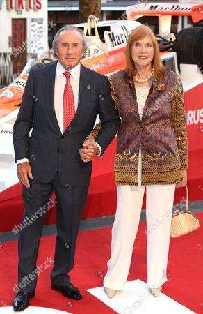 Sir Jackie Stewart and Lady Helen Stewart