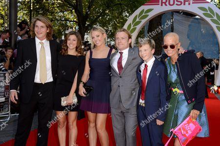 Tom Hunt, Sarah Hunt, Guest, Freddie Hunt, Guest, Sarah Lomax