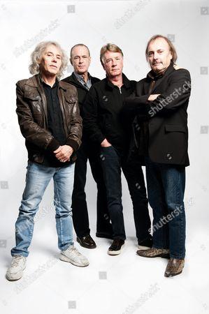 Status Quo - Alan Lancaster, Francis Rossi, Rick Parfitt and John Coghlan