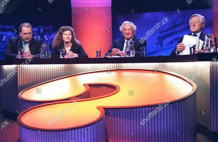 RON DAVIES ON 'QUESTION TIME' TV WITH DAVID DIMBLEBY AND MICHAEL WINNER
