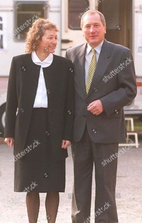 RON DAVIES WITH WIFE CHRISTINA