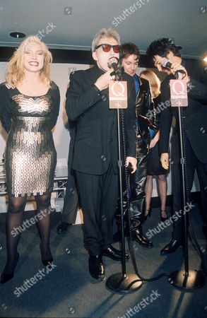Stock Picture of Blondie - Deborah Harry with Chris Stein, Jimmy Destri and Clem Burke