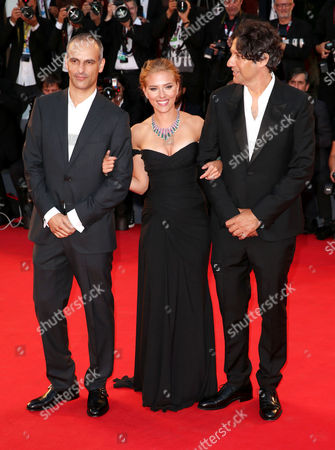 James Wilson, Scarlett Johansson and Jonathan Glazer