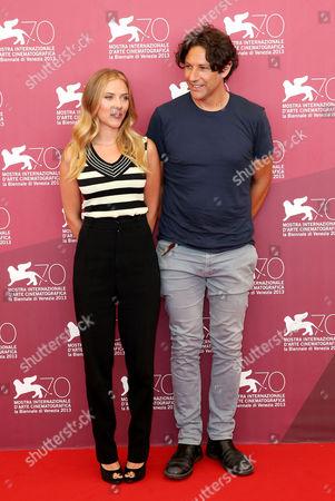 Scarlett Johansson and Jonathan Glazer