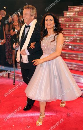Tony Jacklin and Susanna Reid