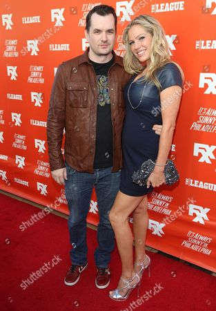 Stock Image of Jim Jefferies and Kate Luyben