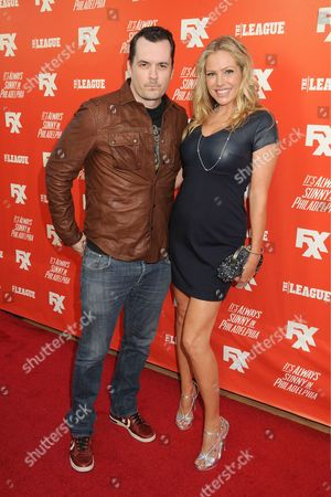 Jim Jefferies and Kate Luyben