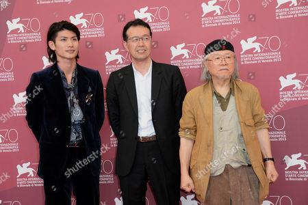 Haruma Miura, Leiji Matsumoto, Aramaki Shinji