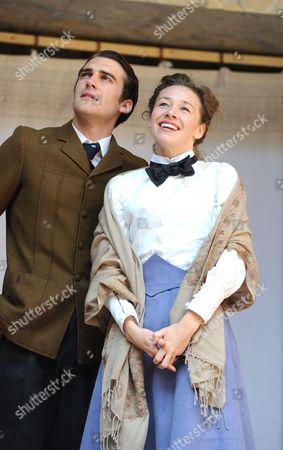 Editorial photo of 'Blue Stockings' play, Globe Theatre, London, Britain - 27 Aug 2013