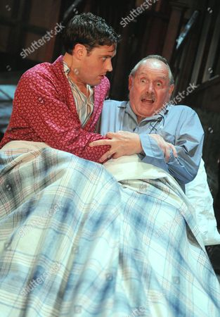 James Dutton as Ronny Gamble, Clive Francis as Sir Hector Benbow
