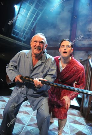 Clive Francis as Sir Hector Benbow, James Dutton as Ronny Gamble