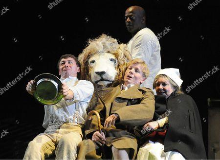 Sam Clark as Ambulance Driver, Lloyd Notice as Lion, Gwen Taylor as Millie, Adam Buchanan as Michael/Bertie