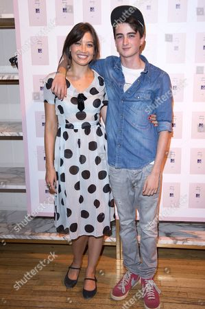 Daisy Lowe and brother Alfie Goffey
