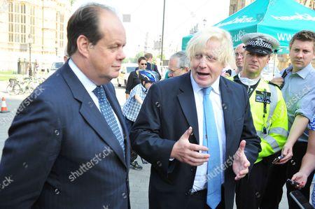 Stephen Hammond and Boris Johnson