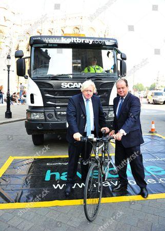 Boris Johnson and Stephen Hammond