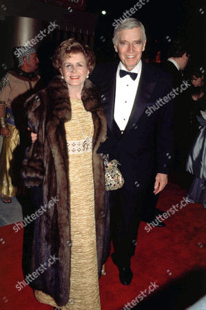 CHARLTON HESTON WITH LYDIA HESTON