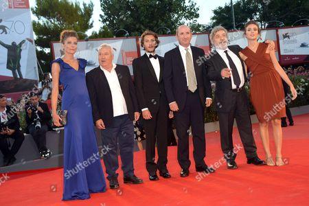 Gianni Amelio, Antonio Albanese, Livia Rossi, Gabriele Rendina and Sandra Ceccarelli