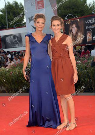 Sandra Ceccarelli and Livia Rossi