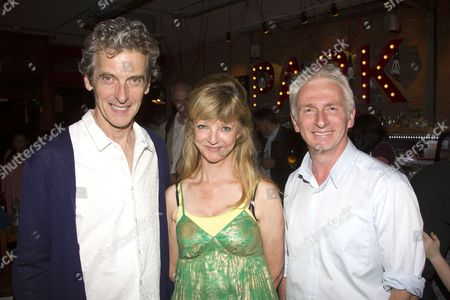 Stock Image of Peter Capaldi, Rosalind Adler (Author/Chris) and Crispin Letts (Guy)