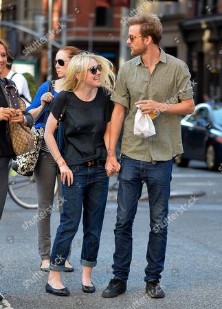 Dakota Fanning and boyfriend Jamie Strachan