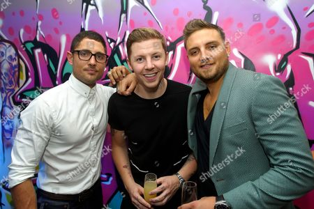 Editorial image of Launch of 'Ink' nightclub, Leicester Square, London, Britain - 04 Sep 2013