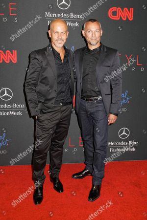 Stock Picture of Italo Zucchelli and boyfriend Quin Aluni