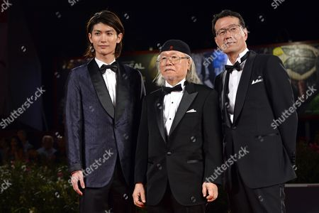 Editorial image of 'Space Pirate Captain Harlock' film photocall, 70th Venice International Film Festival, Italy - 03 Sep 2013