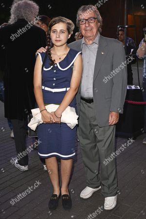 Bill Wyman and daughter Matilda Wyman