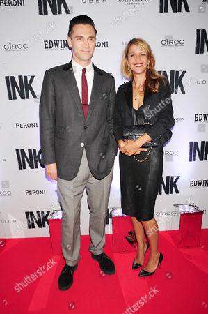 Reg Traviss and Lisa Moorish